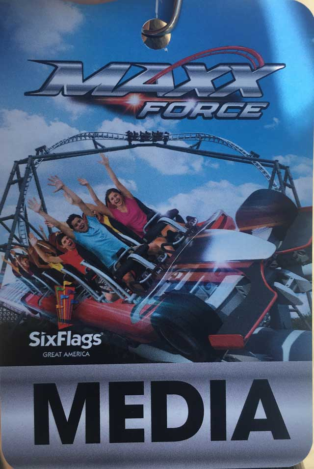 Maxx Force Media Day at Six Flags Great America | Coaster Crew